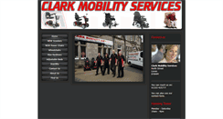 Preview of clarkmobility.co.uk